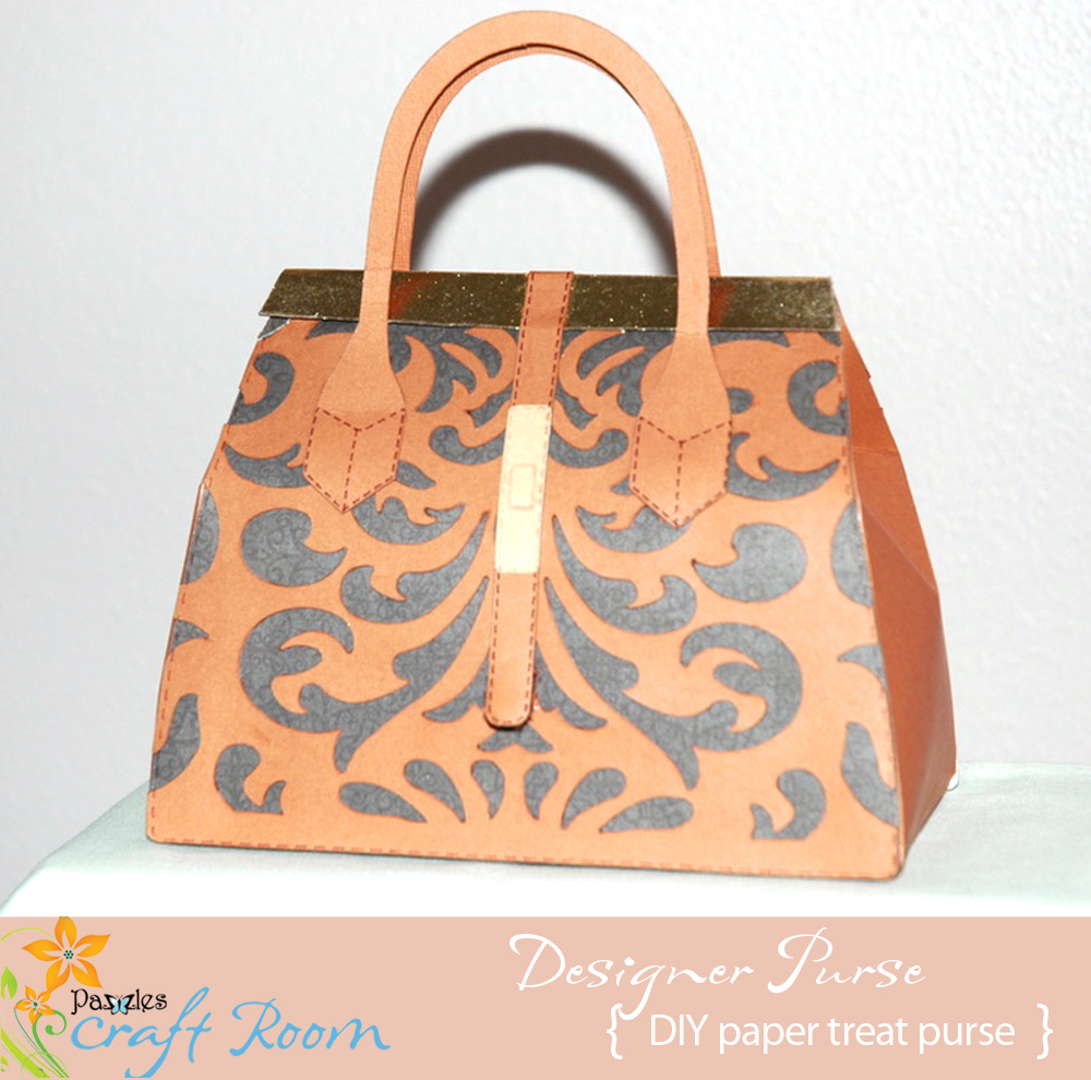 I Love Designer Purses And Thought Making One To Give Away Would Be Cute Put A Small Gift In For Any Women Or