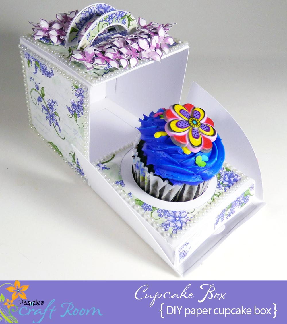 Beautiful Cupcake Box - Pazzles Craft Room