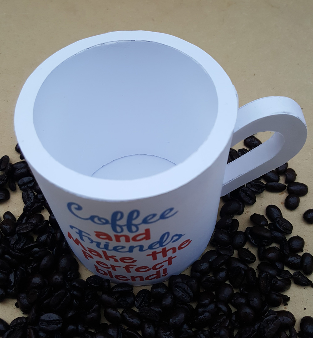 Dimensional Paper Coffee Cup