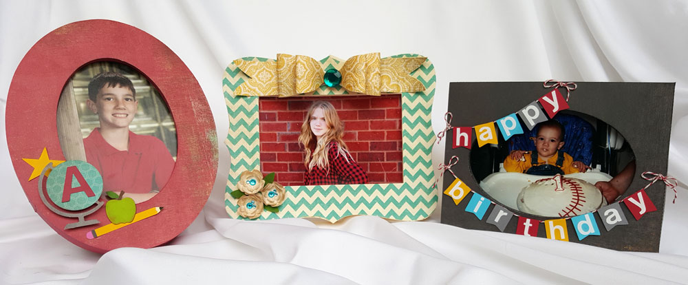 Dimensional Paper Picture Frames - Pazzles Craft Room
