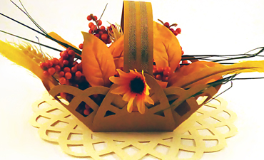 Doily Basket