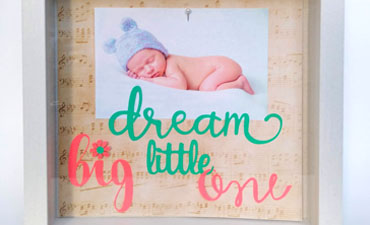 Pazzles DIY Nursery Sign by Renee Smart