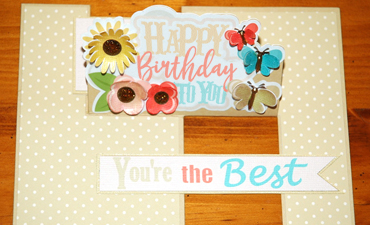 Celebration Easel Card