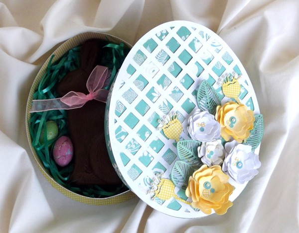 Easter Egg Shaped Box