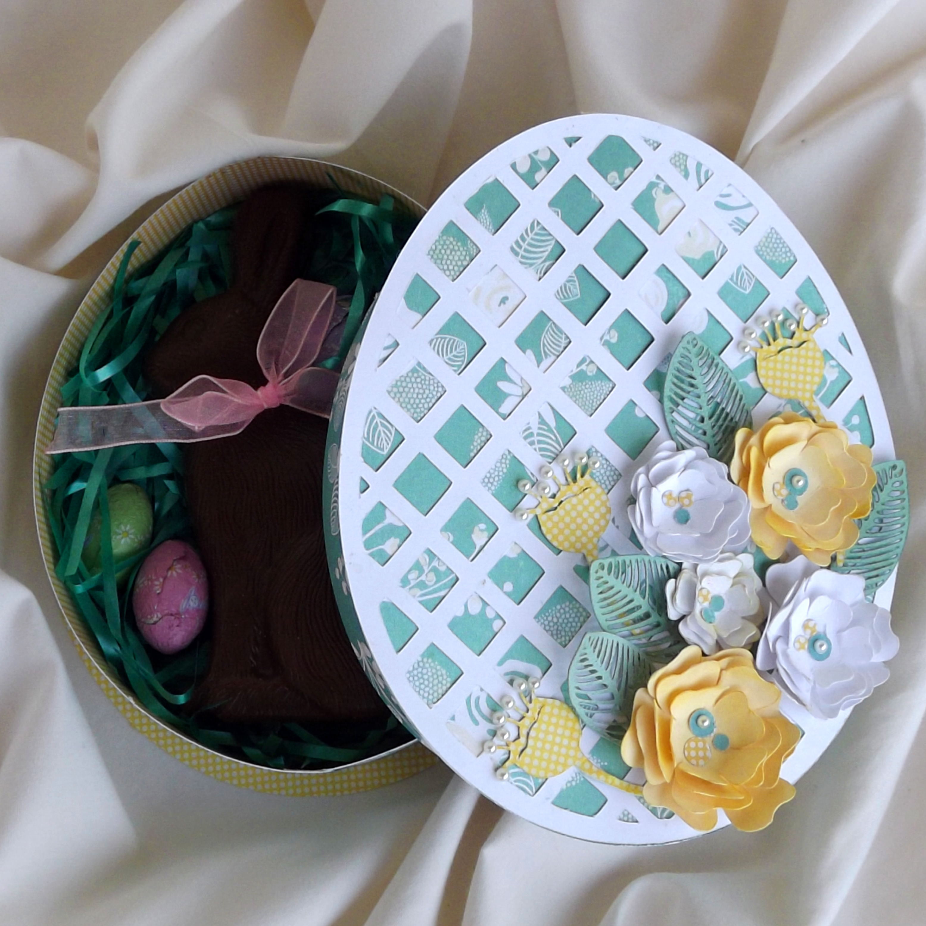 Easter egg shaped box pazzles craft room negle Images
