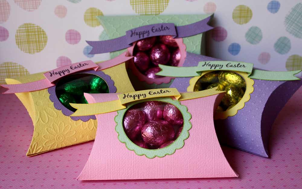 Easter Pillow Box Treats