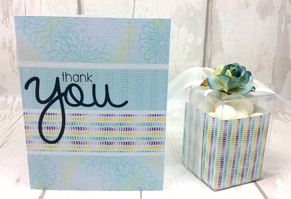 Easy Thank You Card and Box