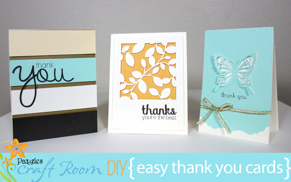 Easy Thank You Cards Collection Ai Svg And Wpc Files Pazzles