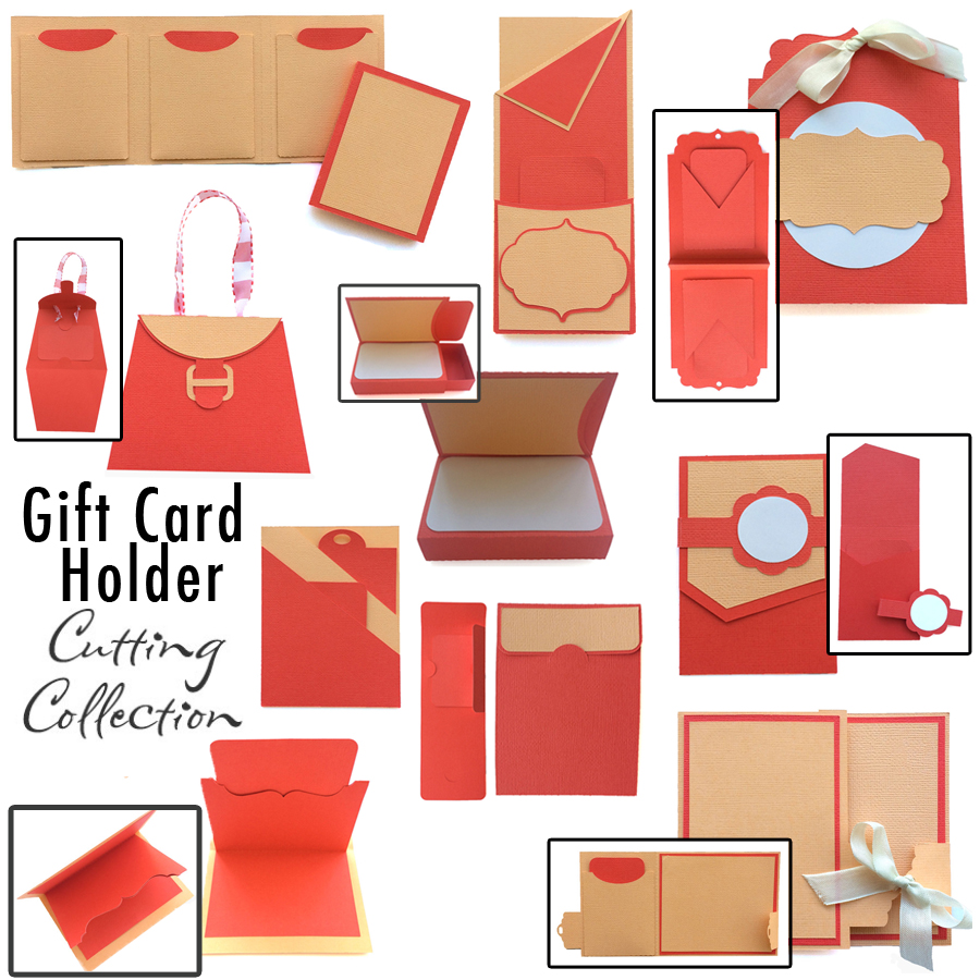 Gift card holders cutting collection pazzles craft room gift card cutting collection in wpc and svg from pazzles negle