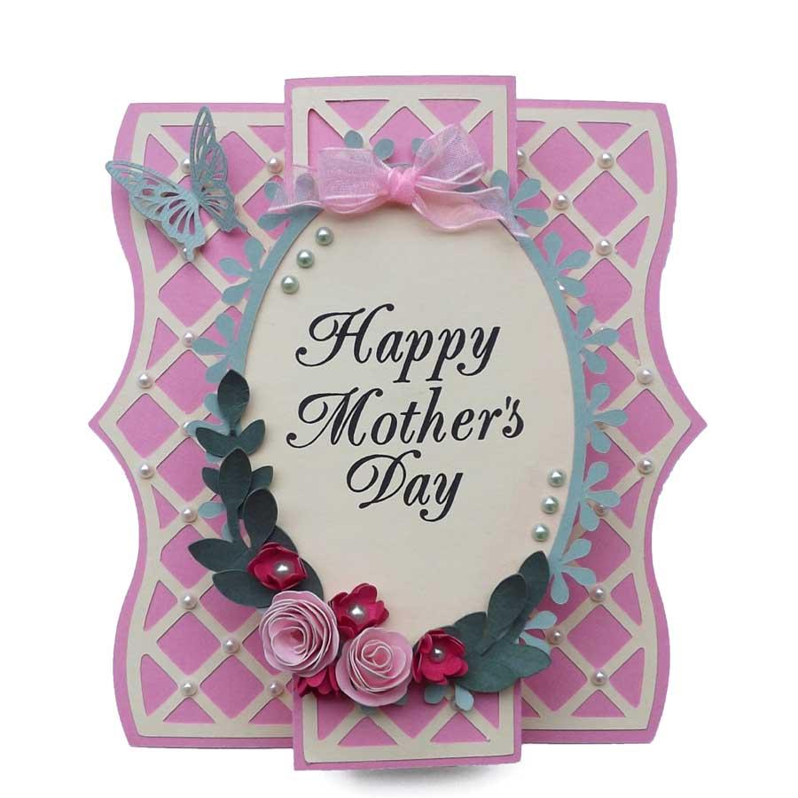 Elegant Cards Week Lattice Overlay Mother S Day Card