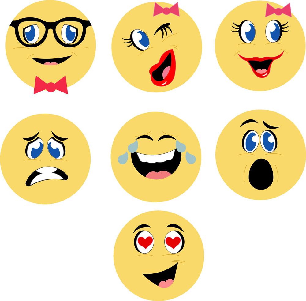 Emoji Notecards Pazzles Craft Room