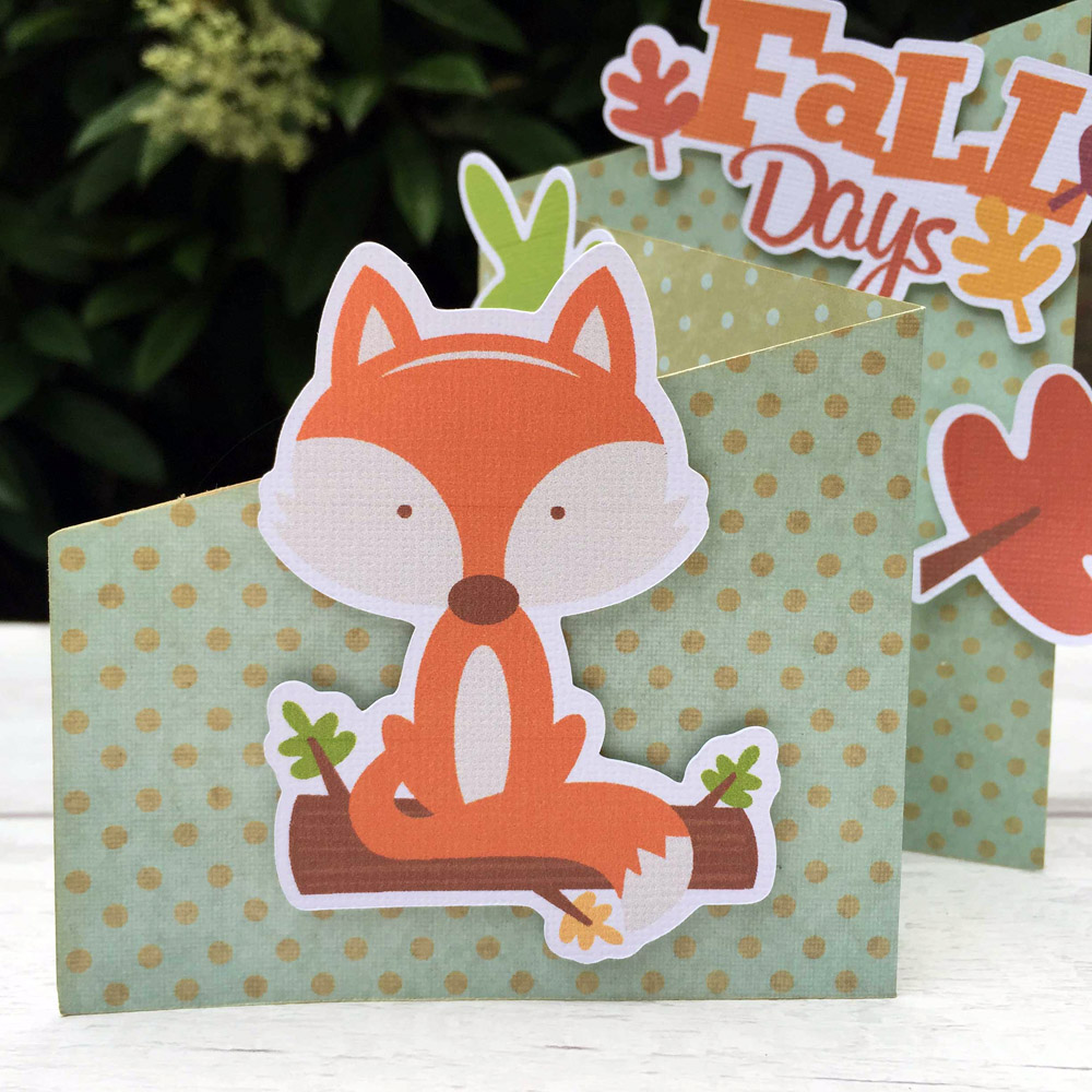 Fall Fox Card