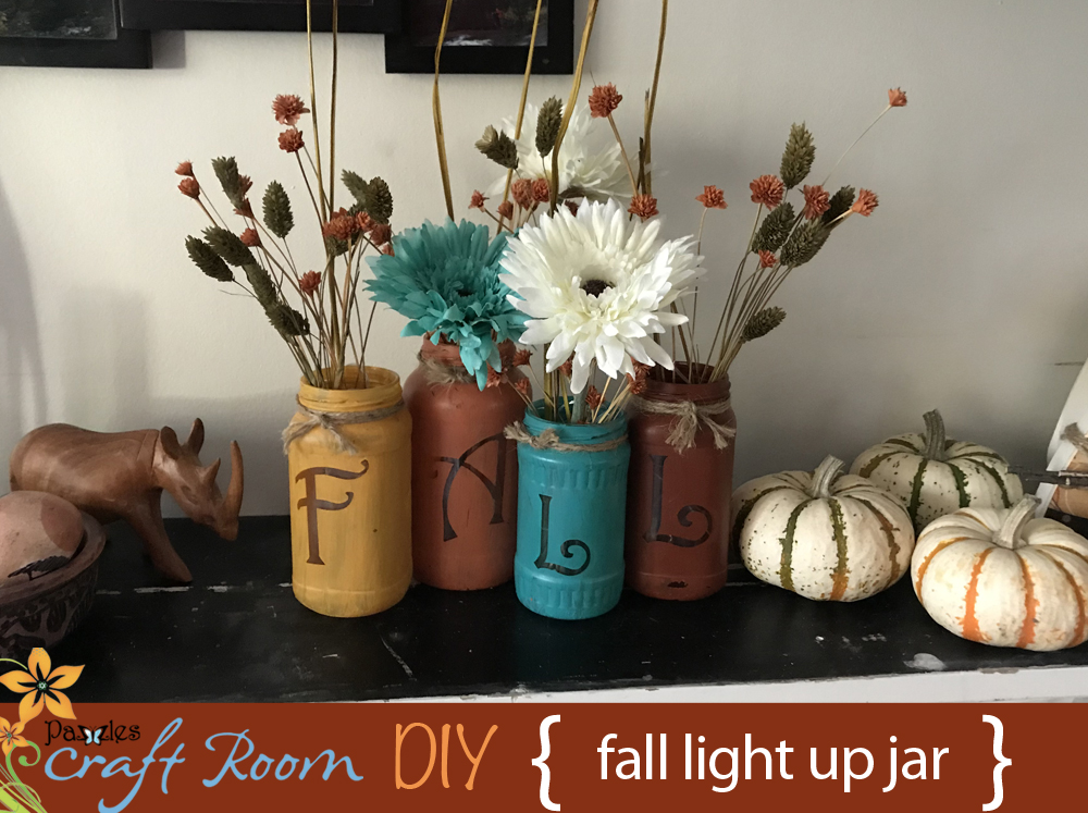 But i also like quick and easy projects this jar decoration is very easy and it gives you a lovely decoration for your home