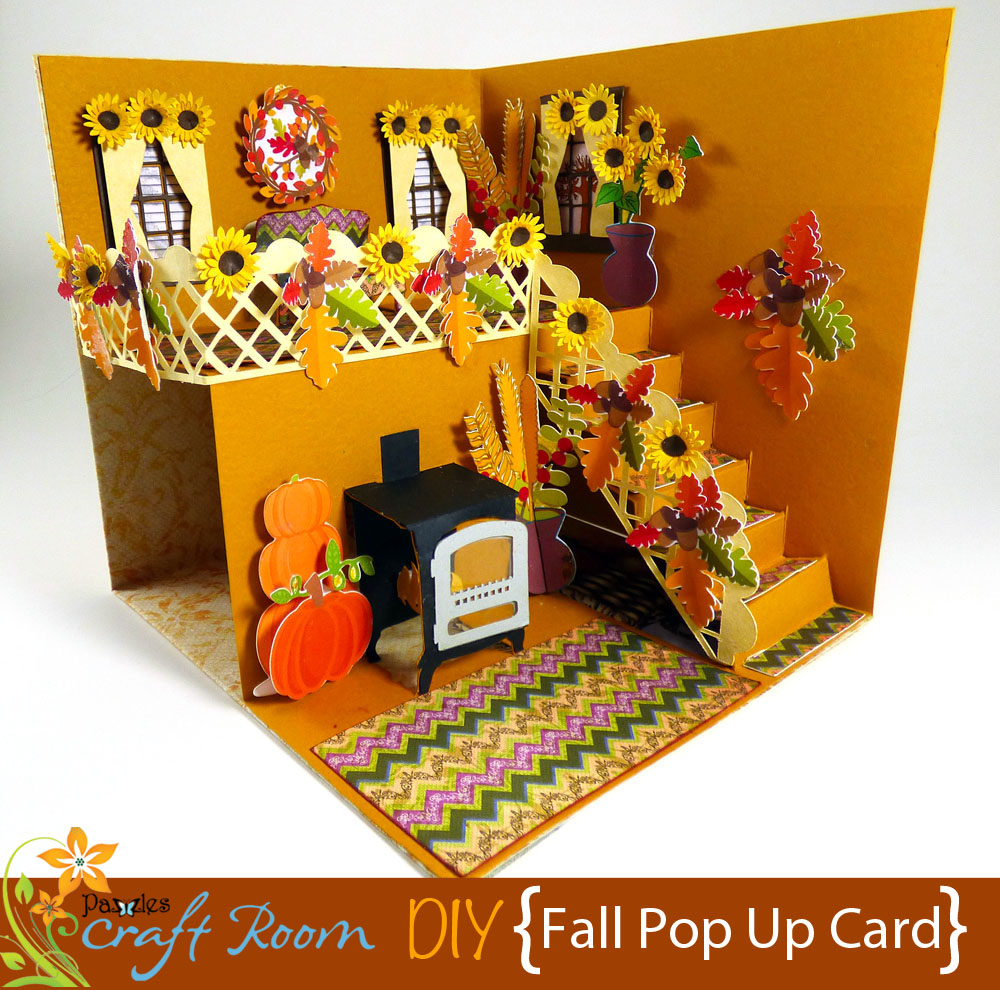 Fall Pop Up Card