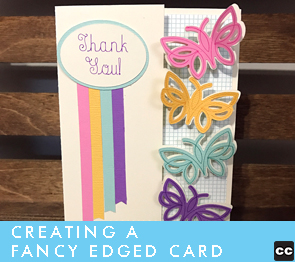 How to Make Fancy-Edged Cards