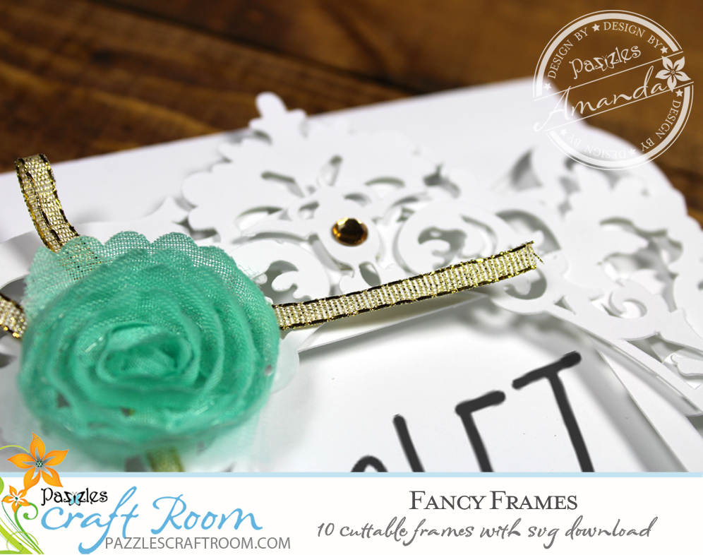 10 Cuttable Fancy Lace Frames with instant SVG download. Compatible with all major electronic cutters including Pazzles Inspiration, Cricut, and Silhouette Cameo. Design by Amanda Vander Woude.