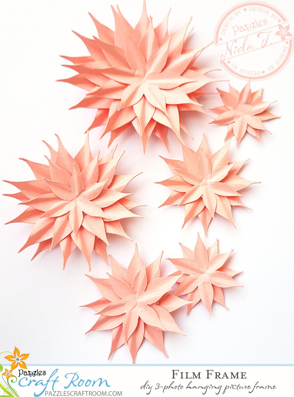 Pazzles DIY Paper Flowers by Nida Tanweer