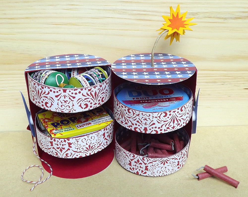 Firecracker Favor Box
