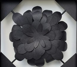 Pazzles DIY Paper Flower Wall Art. Instant SVG download compatible with all major electronic cutters including Pazzles Inspiration, Cricut, and Silhouette Cameo. Design by Renee Smart.
