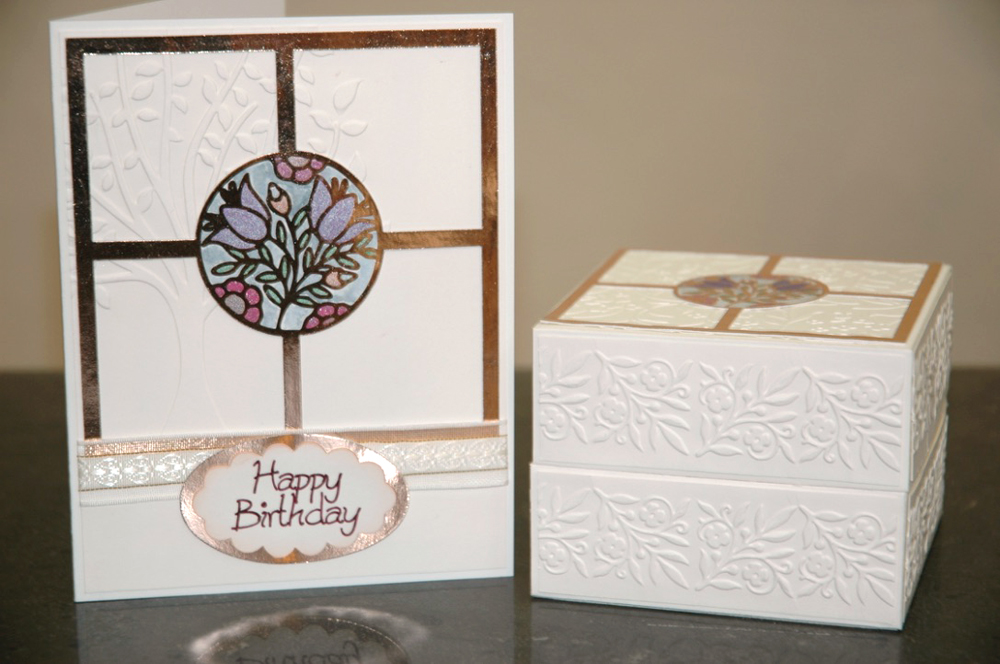 Foil Overlay Box and Card