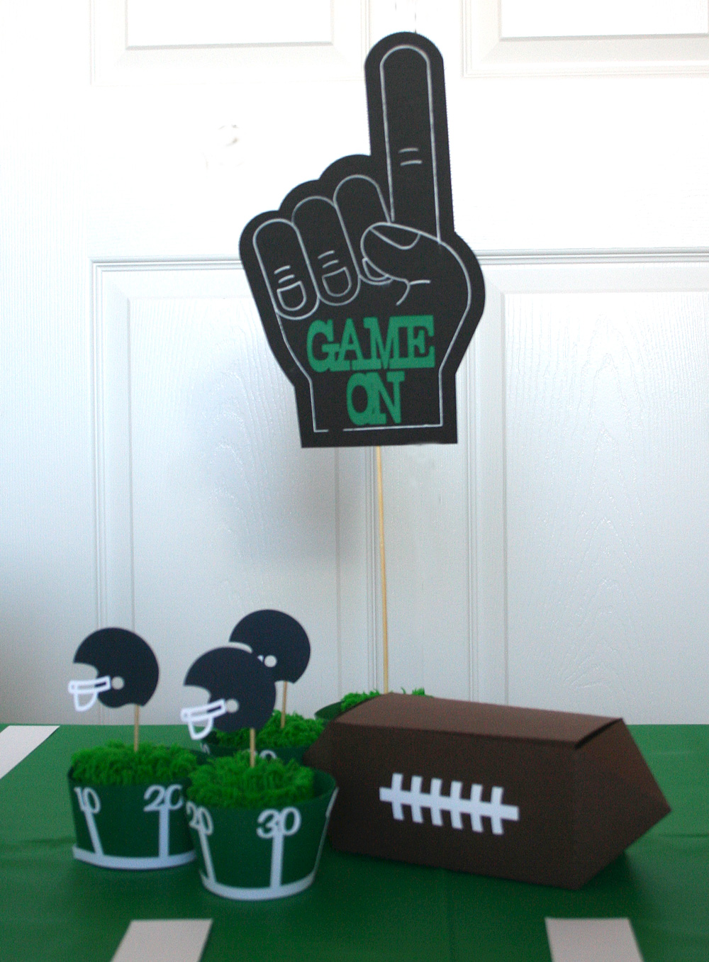 Football Fanatic Party Cutting Collection Pazzles Craft Room