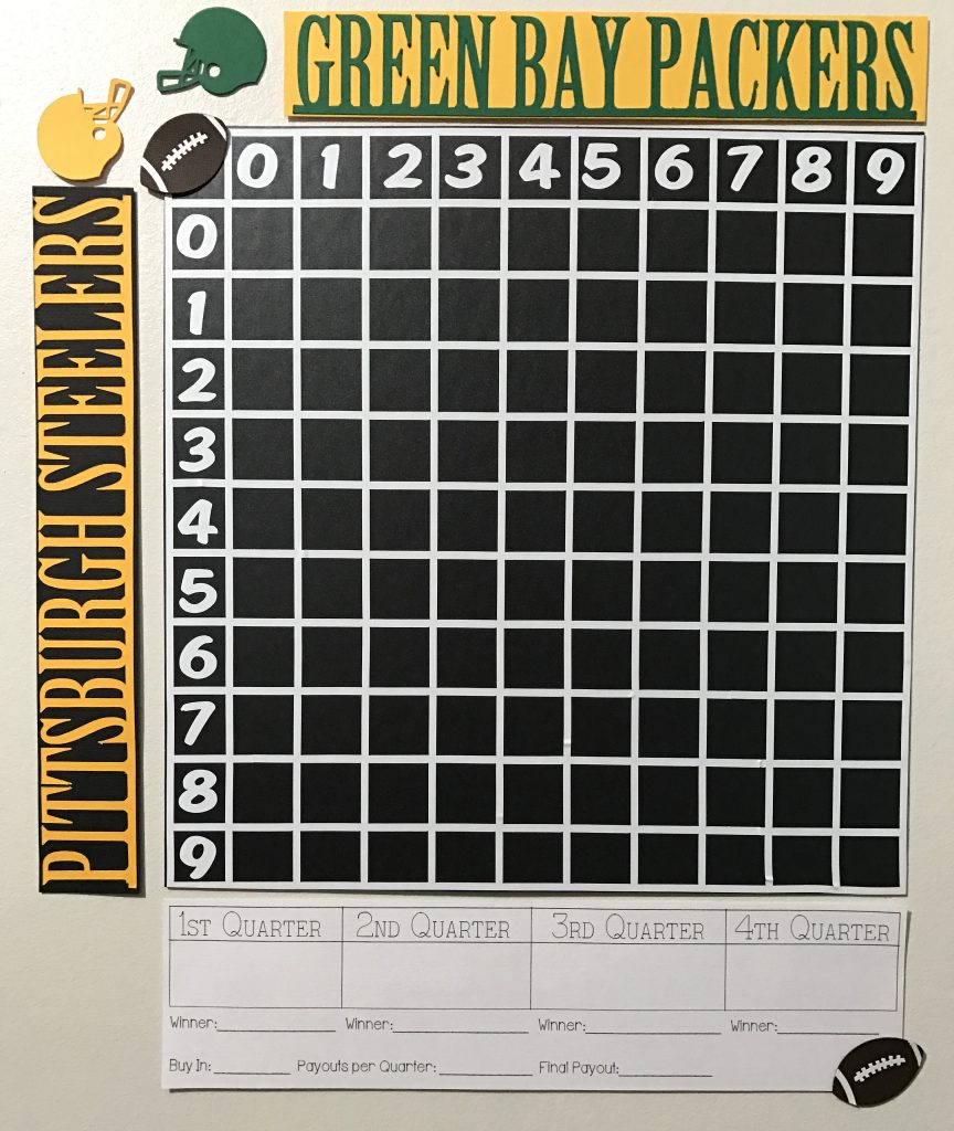 Football Party Pool Board
