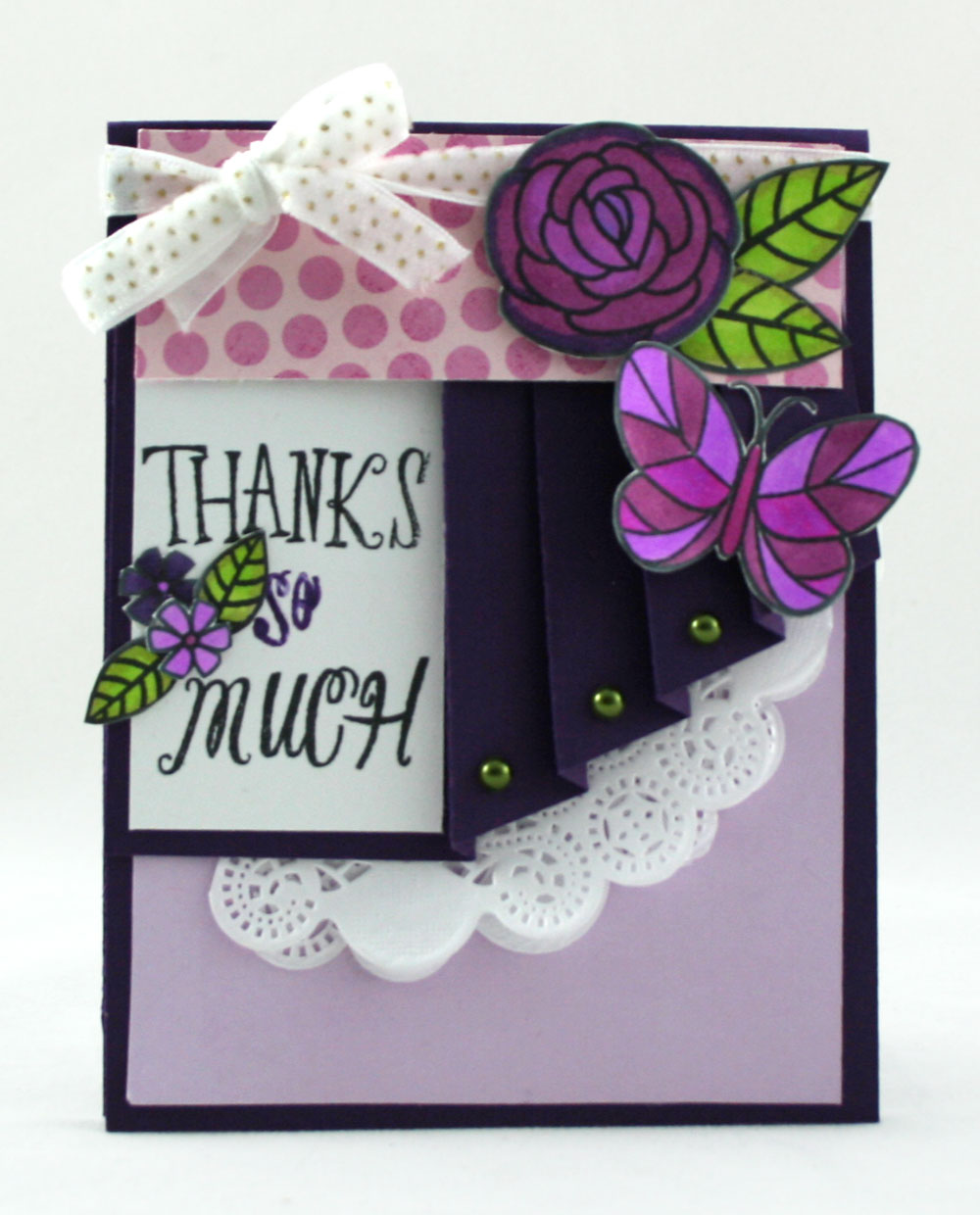 Fun Folds Drapery Fold Card