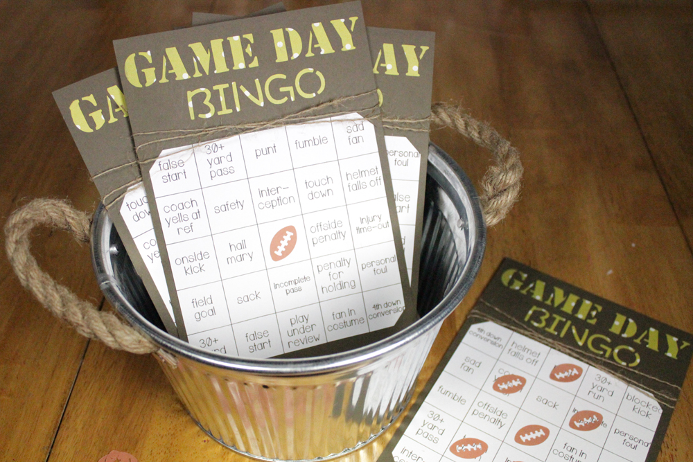 Let everyone get involved in game day with these easy and fun bingo ...
