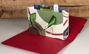 Gift Card Bag Pop Up