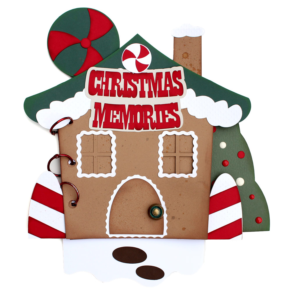 Gingerbread Christmas Mini Album