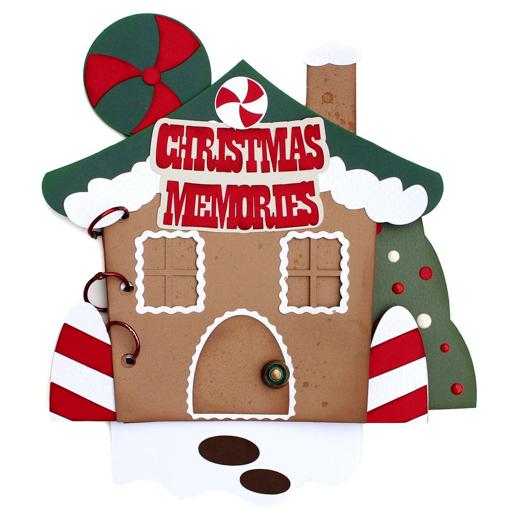 Gingerbread Christmas Mini Album