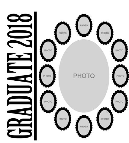 13 Picture Graduate Page