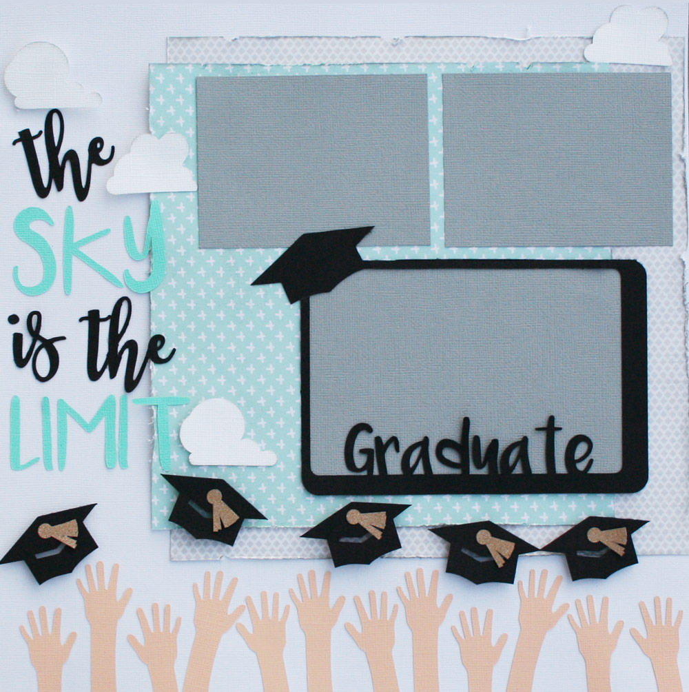 Graduation Themed Layout