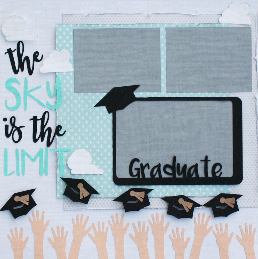 Graduation Themed Layout