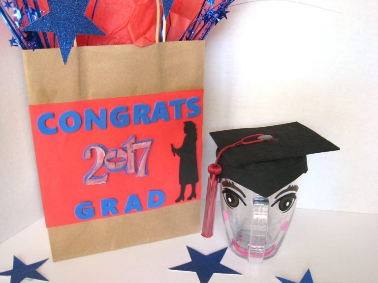 Graduation Cup and Bag