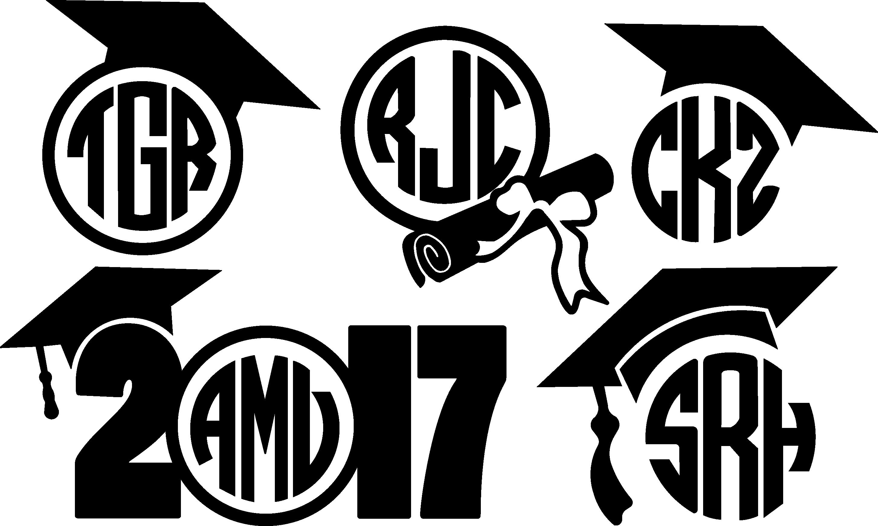 Graduation Monogram