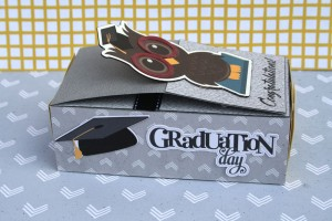 Graduation Matchbox Card