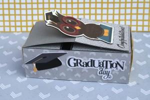 Graduation Matchbox Card