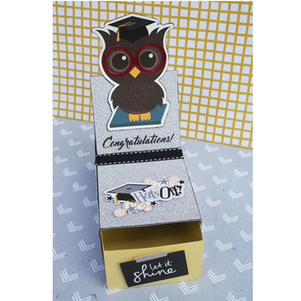 Graduate Gift Card Holder and Box