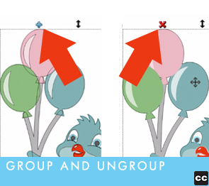 Group and Ungroup