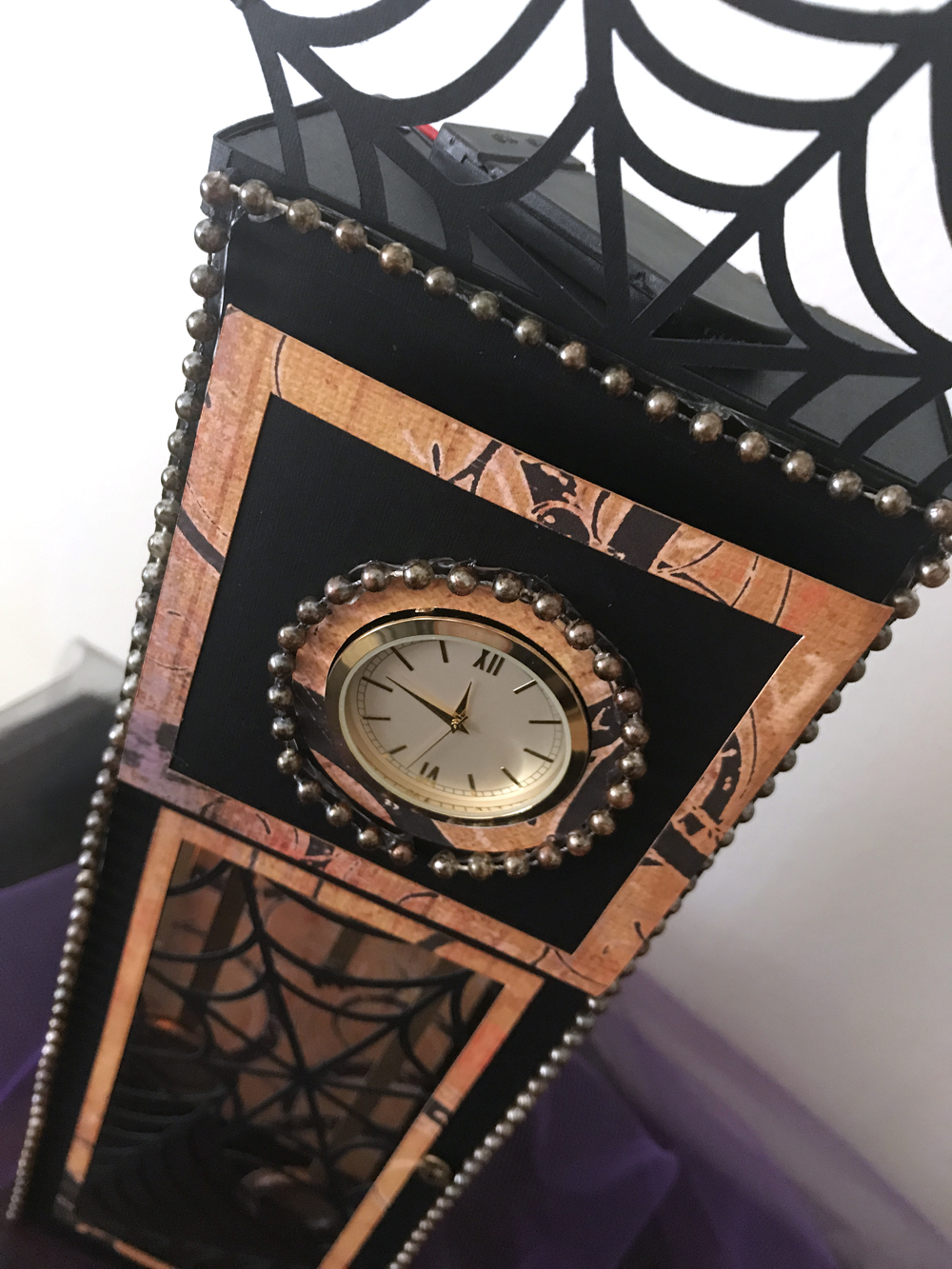 Halloween Grandfather Clock