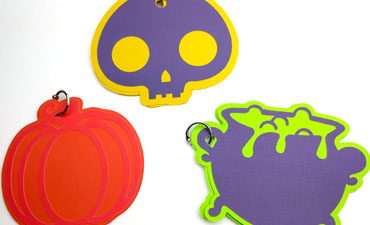 Pazzles DIY Halloween Treat Notes by Renee Smart