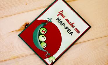 Hap-Pea Card