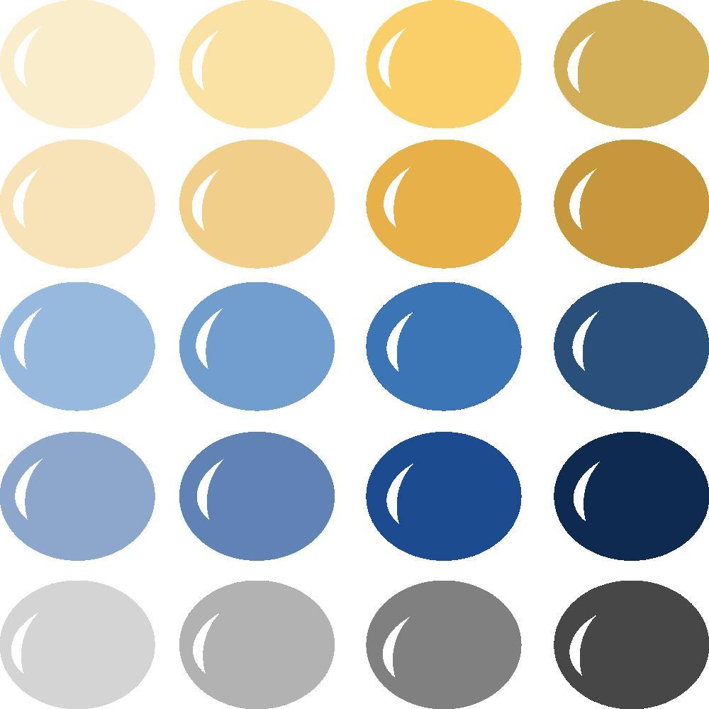 InVue Color Palette: Happy Hanukkah