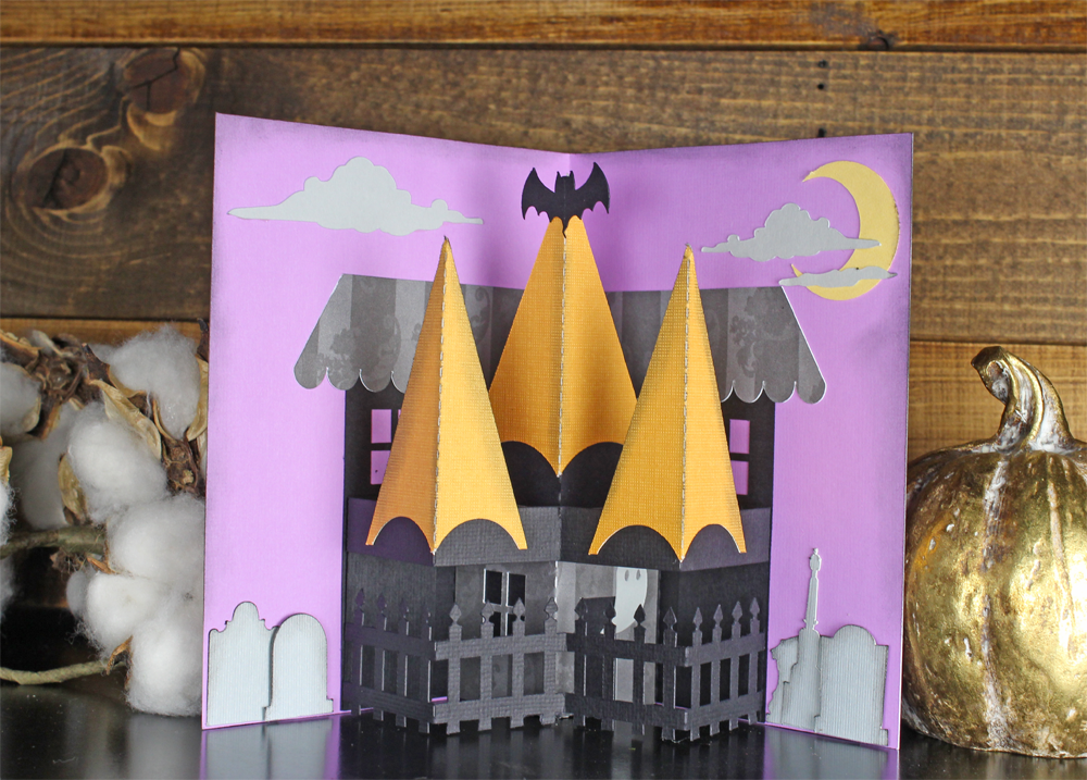 Haunted House Pop Up Card