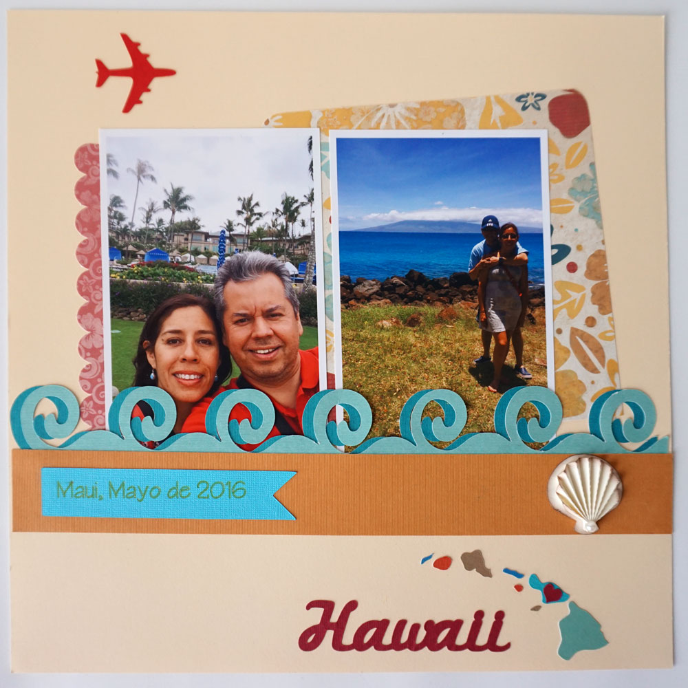 Hawaii Vacation Layout