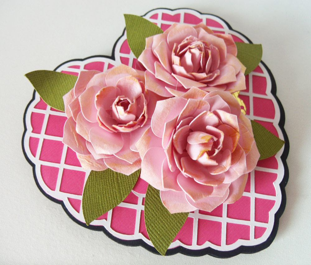 Layered Rose Cut File