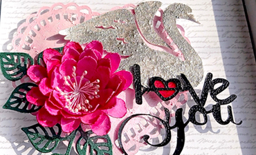 Pazzles Heart Swan Frame with instant SVG download. Compatible with all major electronic cutters including Pazzles Inspiration, Cricut, and Silhouette Cameo. Design by Zahraa Darweesh.