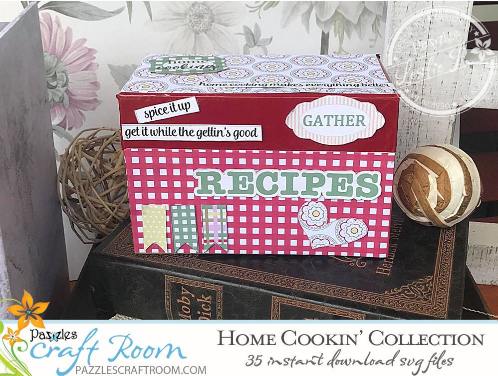 Pazzles DIY Home Cooking SVG FIles. Collection of 35 instant download SVG compatible with all major electronic cutters including Pazzles Inspiration, Cricut, and Silhouette Cameo. Desigs by Leslie Peppers.