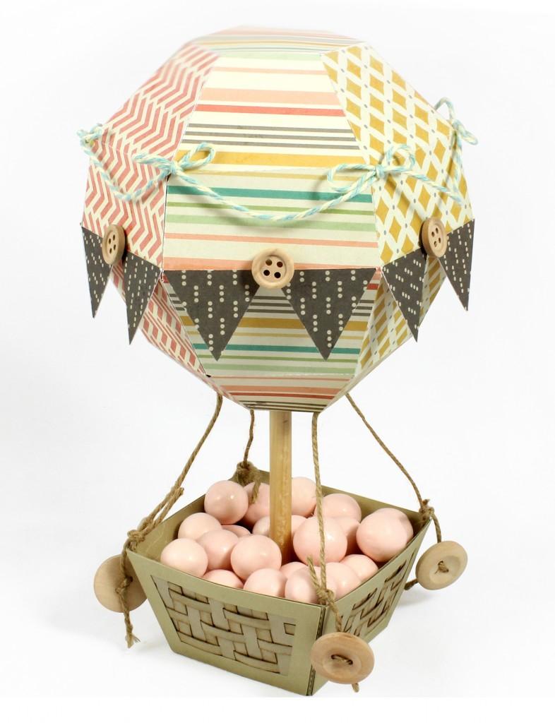Hot Air Balloon Box - Pazzles Craft Room